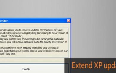 XP Update Extender