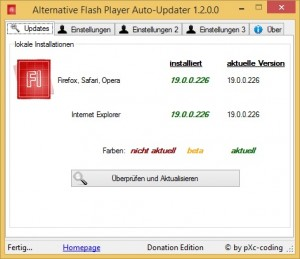 Alternative-Flash-Player-Auto-Updater-1.2.0.0-Donation-Edition-DE
